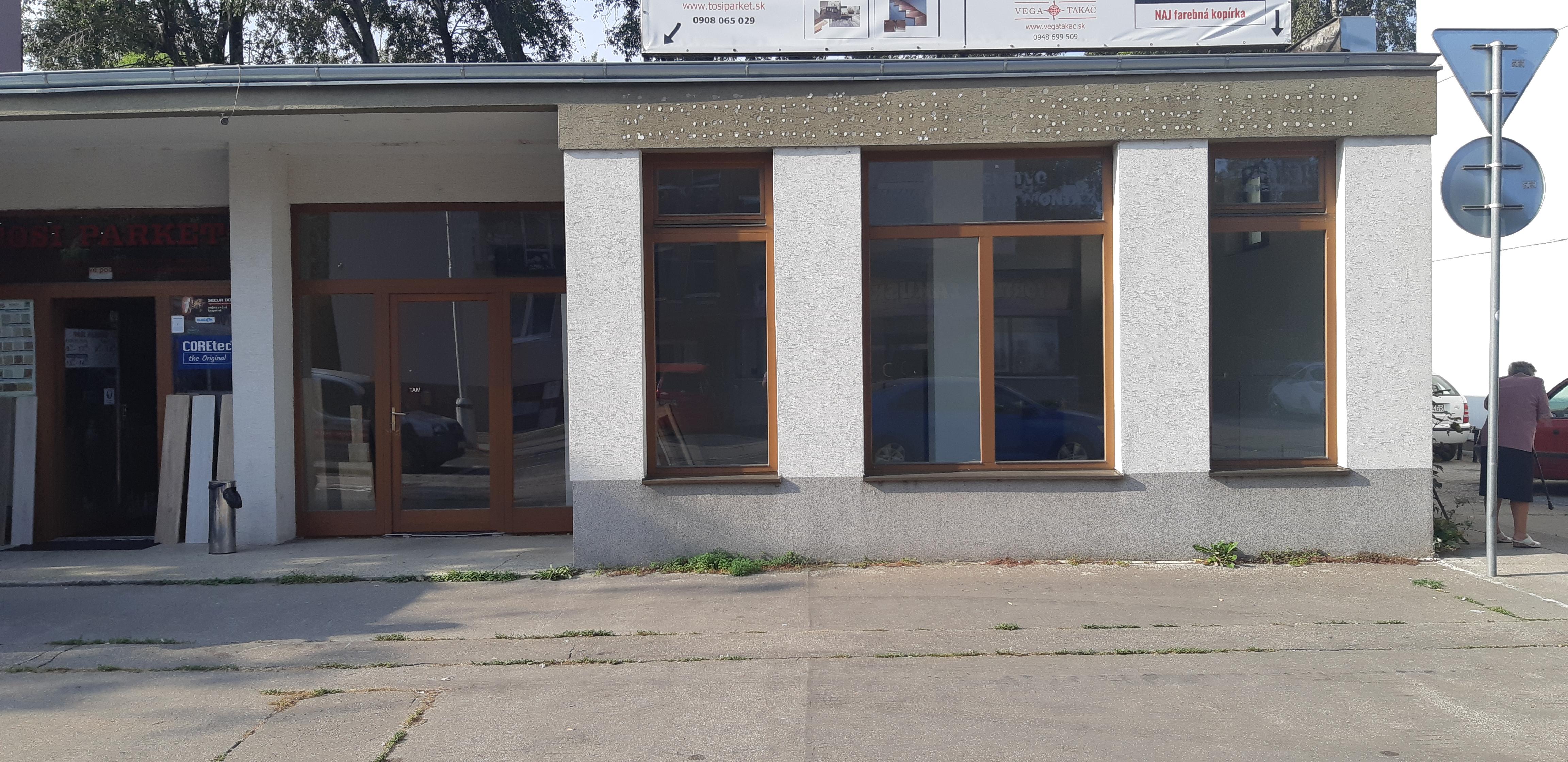 Na prenájom obchodný priestor Šaľa /Budovateľská ulica/