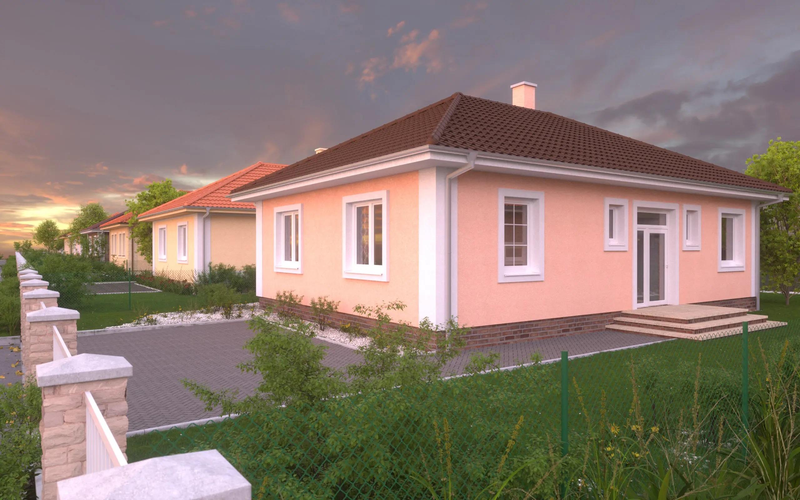 Na predaj novostavba 4-izbového rodinného domu Topoľnica